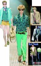 趋势解读:2010春夏时尚型男都穿什么?