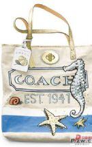2010春夏Coach限量海滩手提袋