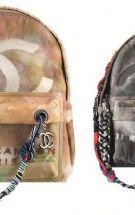 香奈儿Chanel涂鸦双肩包掀起Backpack热潮