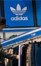 Adidas增加空运提供美国增长股价创新高