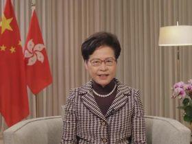 为何香港不自己完善选举制度而要通过中央?林郑月娥回应