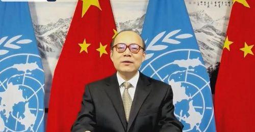 中国代表20国人权理事会反对将人权问题政治化和双重标准