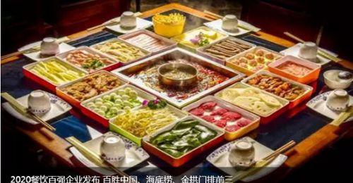 2020餐饮百强企业发布百胜中国、海底捞、金拱门排前三